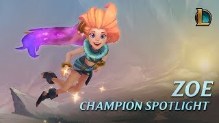 Zoe Champion Spotlight | Gameplay - League of Legends