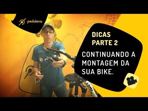 Pedaleria -  2 - Como montar uma bike do zero peça a peça