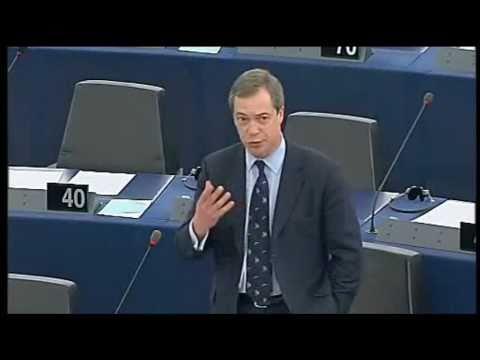 Nigel Farage: EU Financial Transactions Tax is Kamikaze Economics