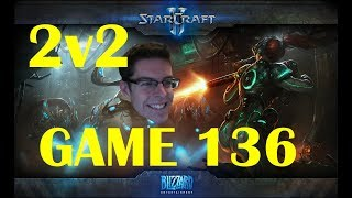 SO MANY NYDUS WORMS - StarCraft II 2v2 - [Game 136]