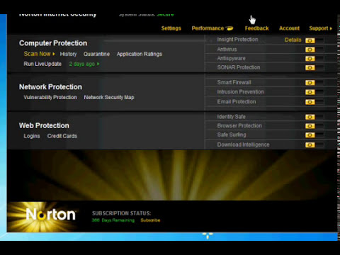 NORTON INTERNET SECURITY 2011 (366 days subscription).wmv