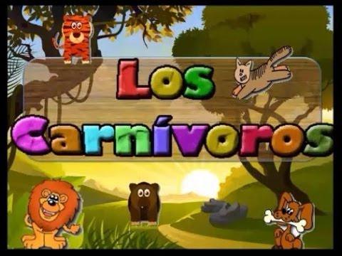 LOS CARNÍVOROS - Cuento Didáctico para Educación Infantil.