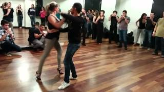 Advanced salsa lesson en français