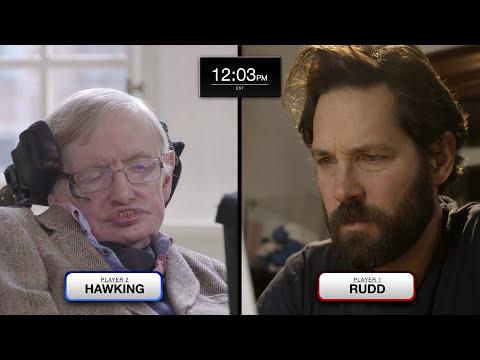 Quantum Chess : Paul Rudd vs Stephen Hawking