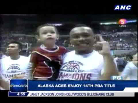 Alaska Aces enjoy 14th PBA title
