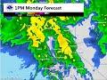 Precipitation Forecast: December 20-21, 2015