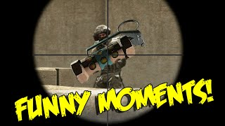 CS:GO FUNNY MOMENTS - SAVED BY A FLASHBANG, JUMPING 1 TAPS & MORE