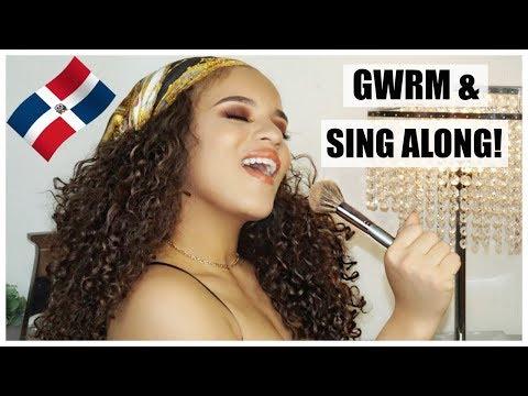 GRWM + MY SPANISH  PLAYLIST DOMINICAN AF