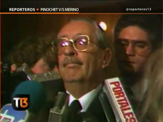 Pinochet v/s Merino - CANAL 13 2012