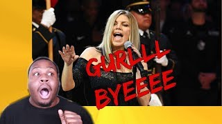 Download Lagu FERGIE NATIONAL ANTHEM REACTION! *GIRL WHAT WAS YOU DOING!!!??*| Zachary Campbell Gratis STAFABAND