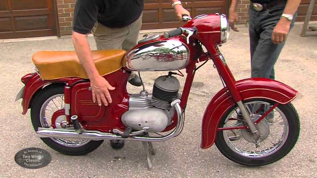 Jawa Motorcycles Vintage 1950 Youtube