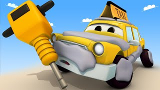 Tom the Tow Truck's Car Wash -  Jeremy The Taxi 2 - Car City ! Cars and Trucks Cartoon for kids