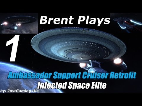 Let's Play Star Trek Online - [Ambassador Support Cruiser Retrofit] - [Infected Space Elite]