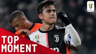 Dybala Curls Brilliantly into the Top Corner! | Juventus 4-0 Udinese | Top Moment | Coppa Italia