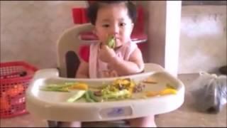 Top 10 bé ăn dặm theo phương pháp tự chỉ huy (BLW) cực dễ thương ở Việt Nam