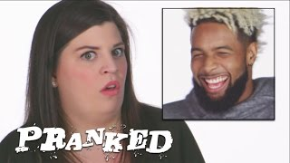 Pranked! Fake Injury Freakout with Odell Beckham Jr.