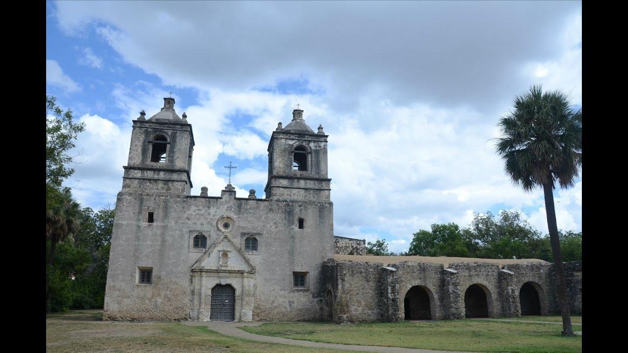 Venture through the old missions of San Antonio