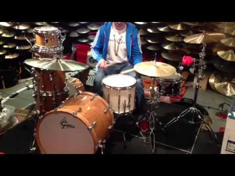 Drum Doctor demos a Premier 14x12 ballad snare.