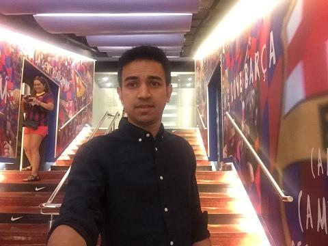 bArCeloNa sTaDiUm & mUSeUM wiTH Hasan Reyad