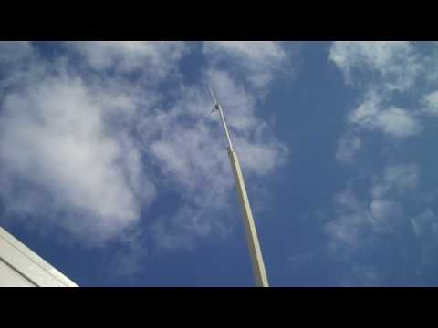 Amateur radio homemade antenna mast