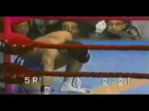 The best of Alexis Arguello Video