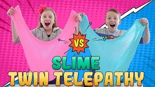 Twin Telepathy Slime Challenge vs My Sister