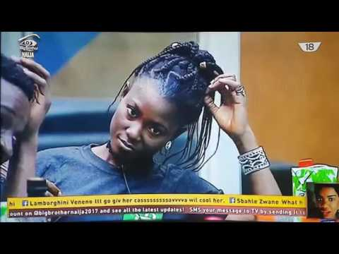 Big Brother naija - Bisola is high and wants sex but can't because of cameras day 45 thumbnail
