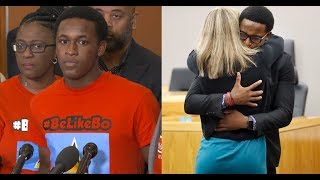 Brandt Jean talks about his hug with Amber Guyger