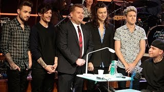 One Direction Plays Tattoo Roulette with James Corden