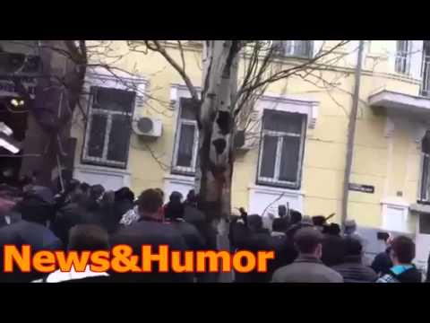 СРОЧНО 14.04.2014 МИТИНГ Славянск! Украина!!
