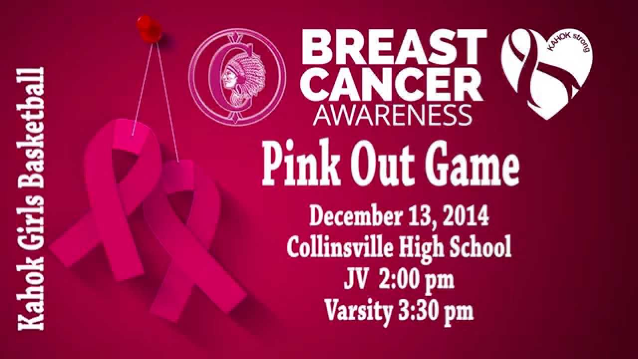 Basketball Pink Out Game