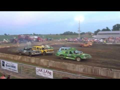 Randy Lewis, the World's #1 Trackchaser, visited the Henderson County Fairgrounds in Stronghurst, Illinois for some country fair oval track racing. This video covers the racing action at the...
