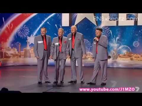 Australia s Got Talent 2011 - Benchmark - Barbershop Quartet