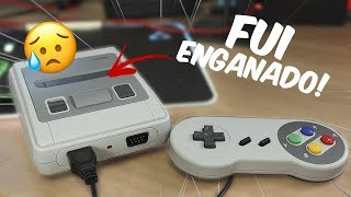 NÃO É O QUE PARECE! Mini Super Nintendo da CHINA com 621 JOGOS?! | Super Mini SFC