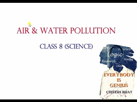 Air & Water Pollution (Class 8, Science, CBSE, NCERT)