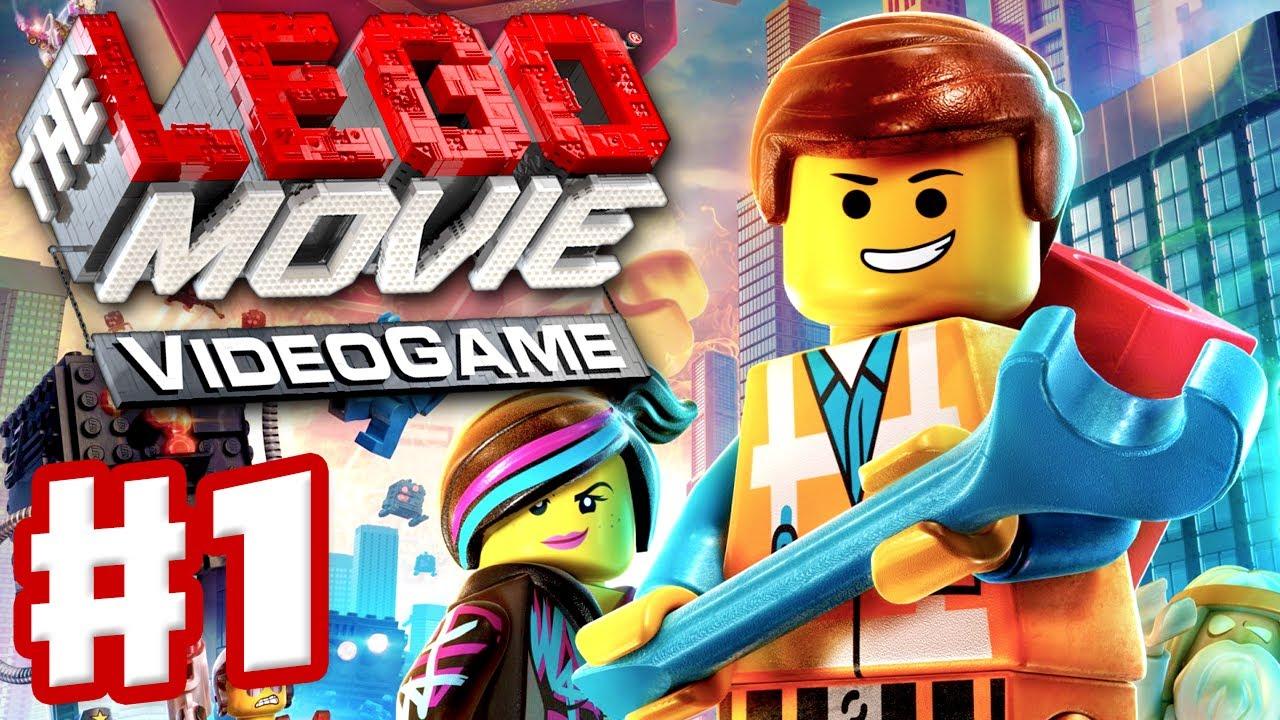 the lego movie videogame gameplay walkthrough part 1. Black Bedroom Furniture Sets. Home Design Ideas