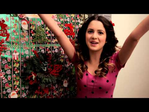 Disney Channel Stars Show Holiday Dressing Room Doors - Debby Ryan, Bella Thorne, Laura Marano