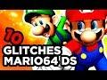 10 BUGS SUR SUPER MARIO 64 DS feat FAROD [BUG ZONE] thumbnail