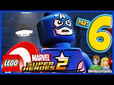 Lego Marvel Super Heroes 2 - Walkthrough Part 6 Hydra Hijinks