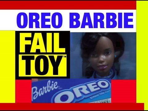 Fail Toy Oreo Barbie Doll Epic Failure Toys Review Video by Mike Mozart @JeepersMedia on YouTube