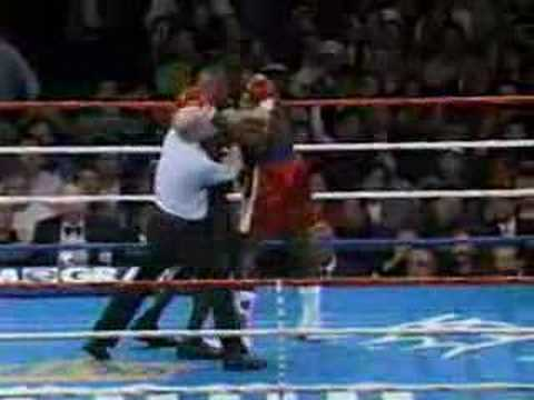 Mike Tyson Knocking Out Frank Bruno