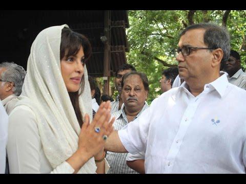 Nandita Puri, Om Puri's 2nd Wife & Son Ishaan Organise Prayer Meeting Of Late Om Puri Ji