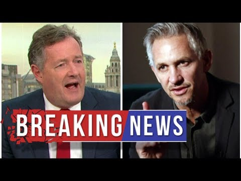 Good Morning Britain brought to halt as Piers Morgan rages at Gary Lineker