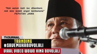 VIRAL ! Video Prabowo H1NA Muka Boyolali | #SaveMukaBoyolali  from TV JURNAL