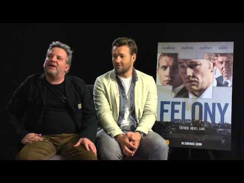 Joel Edgerton & Matthew Saville Talk Felony