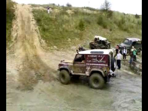 KORC off roading. rolling down a hill MUST WATCH!!
