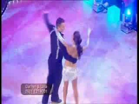 Darren Gough and Lilia Kopylova dancing Freestyle in the Strictly Come Dancing Final 2005.