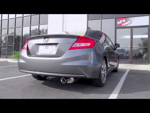 aFe 12-13 Honda Civic 1.8L Axle Back Exhaust System Sound Clip