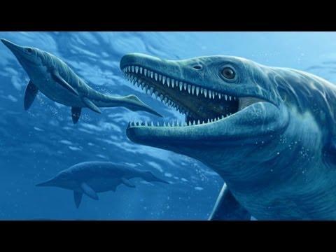 Ихтиозавры в монгольском озере