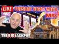 🔴 LIVE MEGA WIN$ ➡️ Tuesday Night Jackpots from Monarch Casino 🎰 | The Big Jackpot